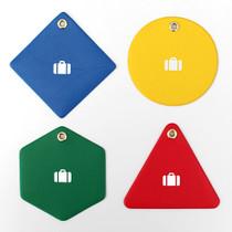 2NUL Travel shape luggage name tag