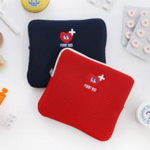 Disco brick first aid air mesh pouch