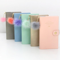 Amelie weekly dated diary with fox tassel