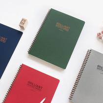 Brilliant wirebound weekly undated diary