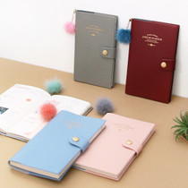 2017 Amelie medium weekly dated diary with fox tassel