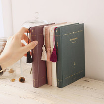 2017 Les beaux jours undated diary with Tassel