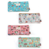 Dorothy and Alice city zipper pencil case