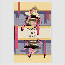 Paperpack Tower of hats paperback plain notebook