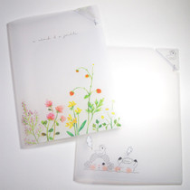 Moons Friends translucent document file holder