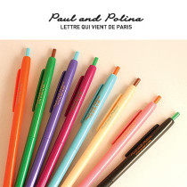 Slim COLOR ballpoint PEN Paul & Polina