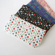 Licoco flower pattern zipper pencil case