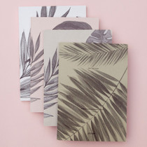 Slow and simple monthly undated planner notebook