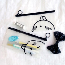 Bookcodi Molang zip lock medium pouch
