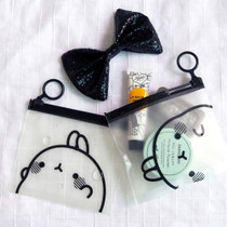 Bookcodi Molang zip lock small pouch