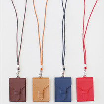 HLounge ID and name card case with neck strap