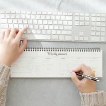 Wanna This Calli undated weekly desk planner