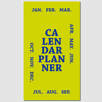 2017 Paperpack Pocket calendar dated diary planner