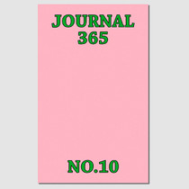 Paperpack Mini pink 6 months undated daily planner scheduler