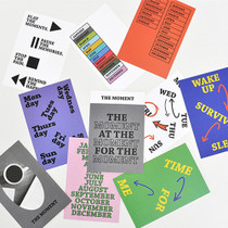 Paperpack Graphic press postcard