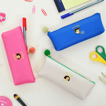 Jam studio Du-dum pom-pom zipper pencil case