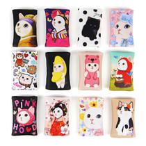 Choo Choo cat card case holder