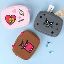 Antenna shop Monster square small zipper pouch
