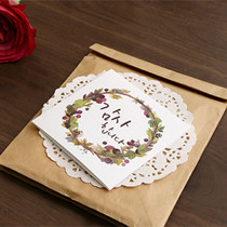 Blessom Blossom folding message card