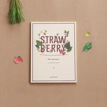 Blessom Blossom Strawberry small free notebook
