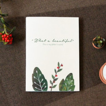 What a beautiful weekly undated diary scheduler