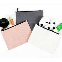 Fenice Seamless corduroy zipper multi pouch