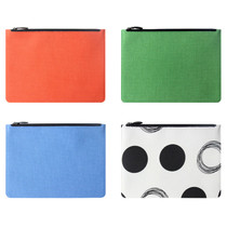Fenice Seamless fabric zipper multi pouch