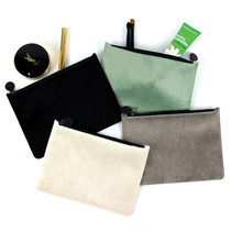 Fenice Seamless fur zipper multi pouch