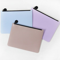 Fenice Seamless matt zipper multi pouch