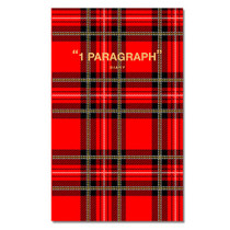 Paperpack 1 paragraph check diary