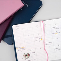 Positive small undated diary scheduler