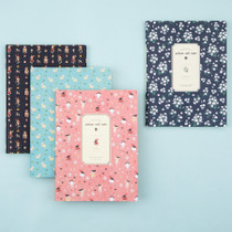 Colorful pattern xlarge soft lined notebook
