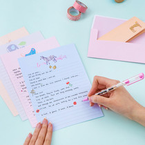 Cutie letter paper and envelope set
