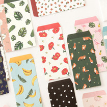 Lovable pattern envelope set