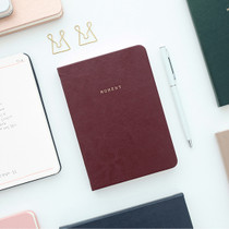 Moment small plain notebook ver2