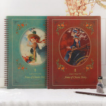 Ann of classic story A4 size clear pocket file holder