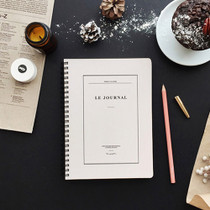 Ivory - Le journal undated weekly planner