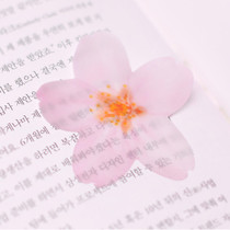 Cherry blossom transparent sticky memo notes Large