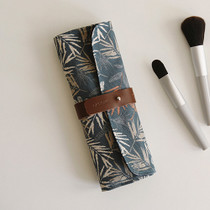 Brown leaf - For your heart roll pencil case