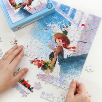 Fairy tale 150 piece  jigsaw puzzle - Anne of classic story - Blue