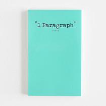 1 Paragraph romantic edition diary - Spread mint