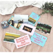 Romantic edition postcard