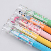 Bling animal clear pencil cap set