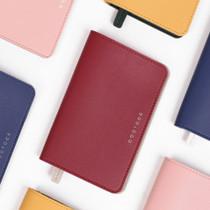 Duotone travel passport case with RFID blocking film