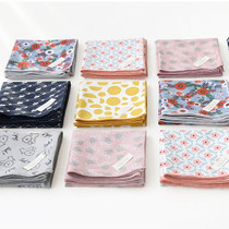 Comely pattern cotton hankie