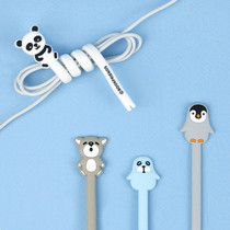 Animal rubber cable & earphone organizer