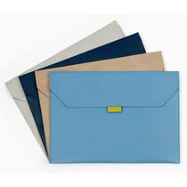 Flap file folder pouch