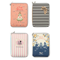 Cute illustration book cover pouch