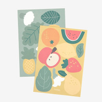 Fruit point paper sticker set