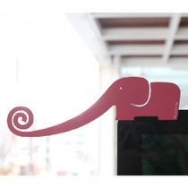 Elephant monitor paper clip